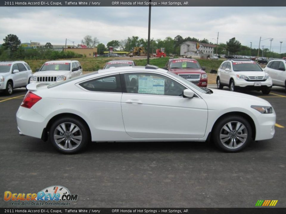 Taffeta White 2011 Honda Accord Ex L Coupe Photo 6
