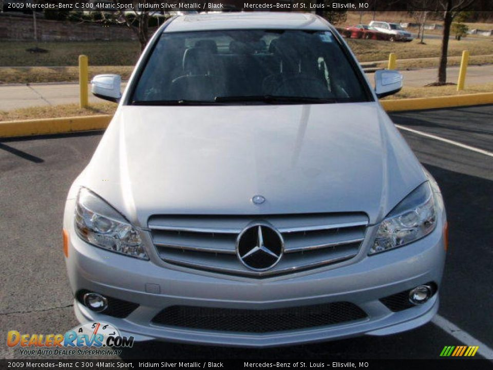 2009 mercedes benz c 300 4matic sport iridium silver for 2009 mercedes benz c 300