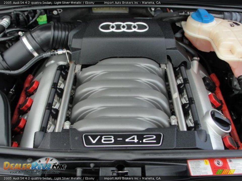 2005 audi s4 4 2 quattro sedan 4 2 liter dohc 40 valve v8 engine photo 18. Black Bedroom Furniture Sets. Home Design Ideas