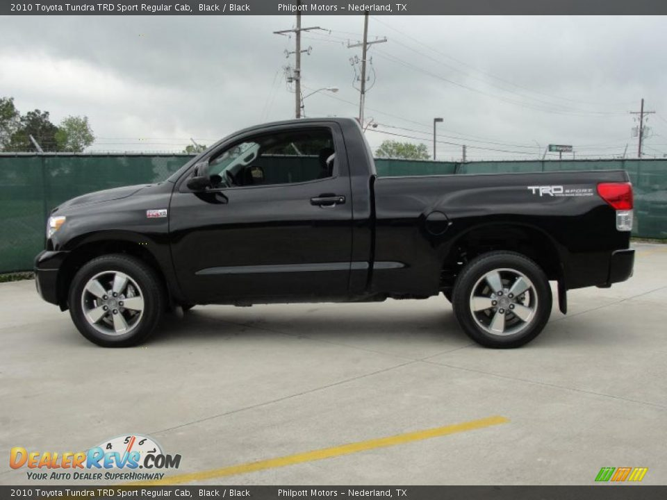 2010 toyota tundra trd sport regular cab black black photo 6. Black Bedroom Furniture Sets. Home Design Ideas