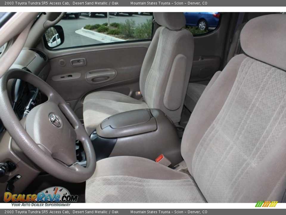 Oak Interior 2003 Toyota Tundra Sr5 Access Cab Photo 9