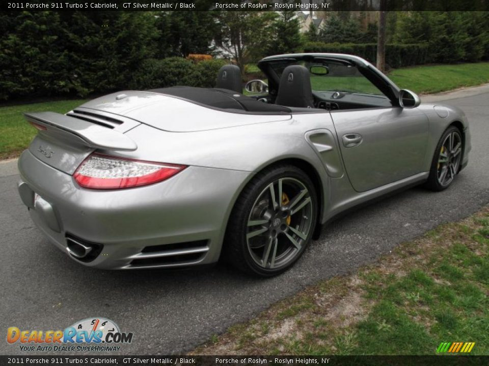 2011 porsche 911 turbo s cabriolet gt silver metallic. Black Bedroom Furniture Sets. Home Design Ideas