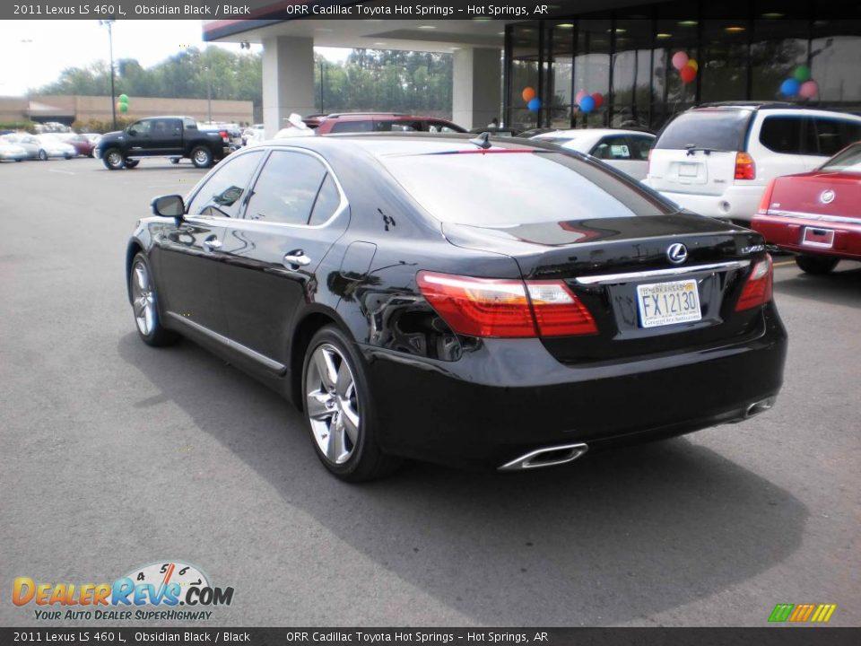 2011 Lexus LS 460 L Obsidian Black / Black Photo #3