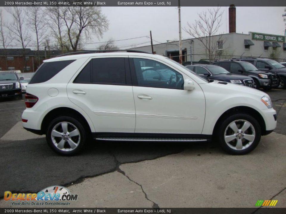 2009 Mercedes Benz Ml 350 4matic Arctic White Black