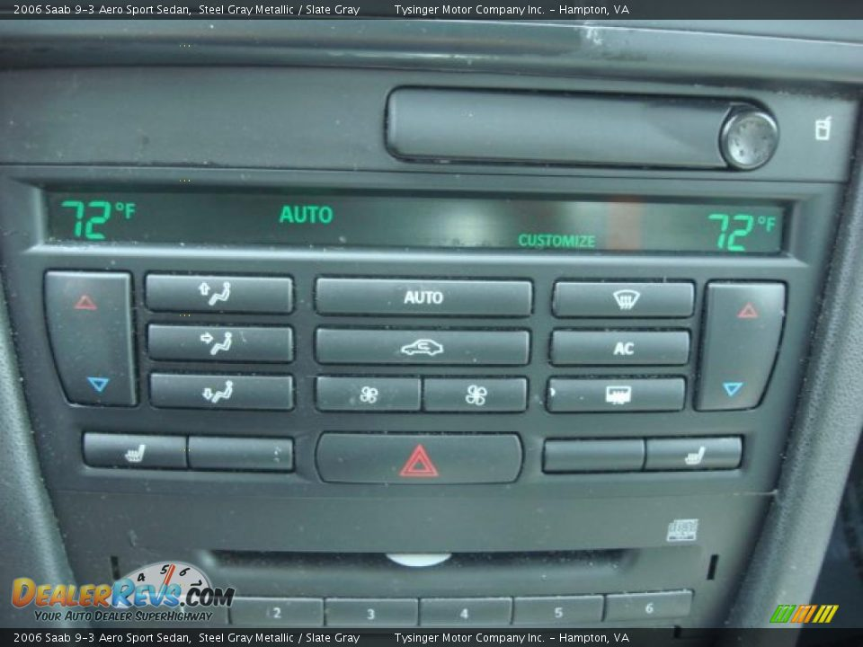 Controls of 2006 Saab 9-3 Aero Sport Sedan Photo #18