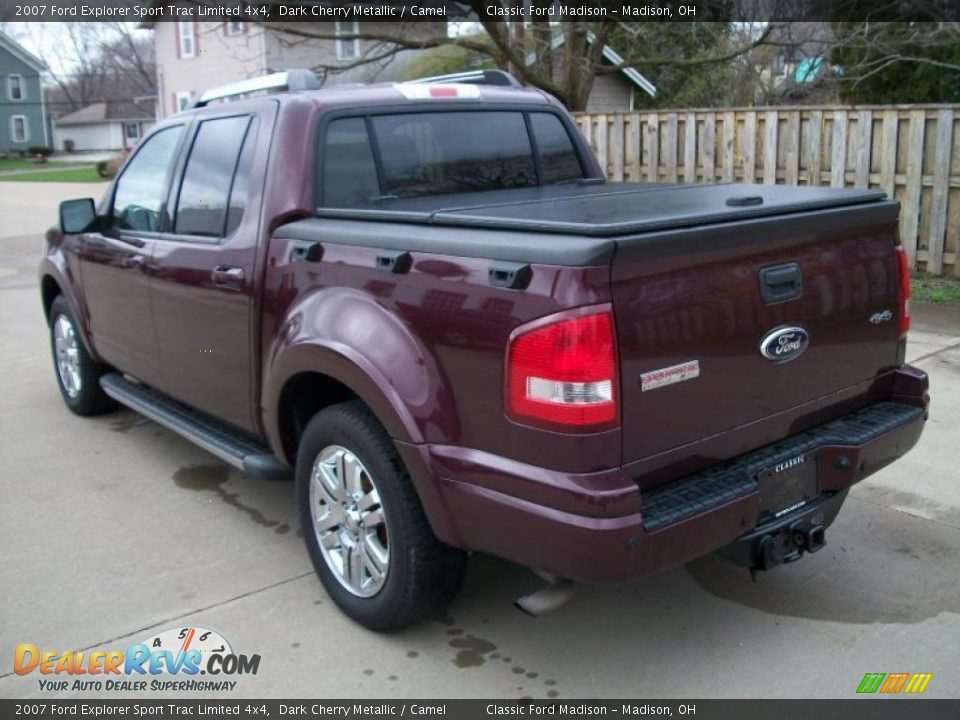 Used Ford Explorer >> Dark Cherry Metallic 2007 Ford Explorer Sport Trac Limited ...