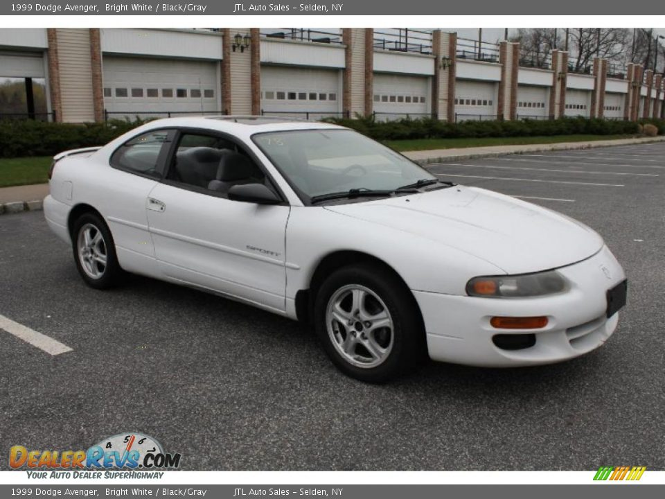 1999 dodge avenger bright white black gray photo 8 dealerrevs com dealerrevs com