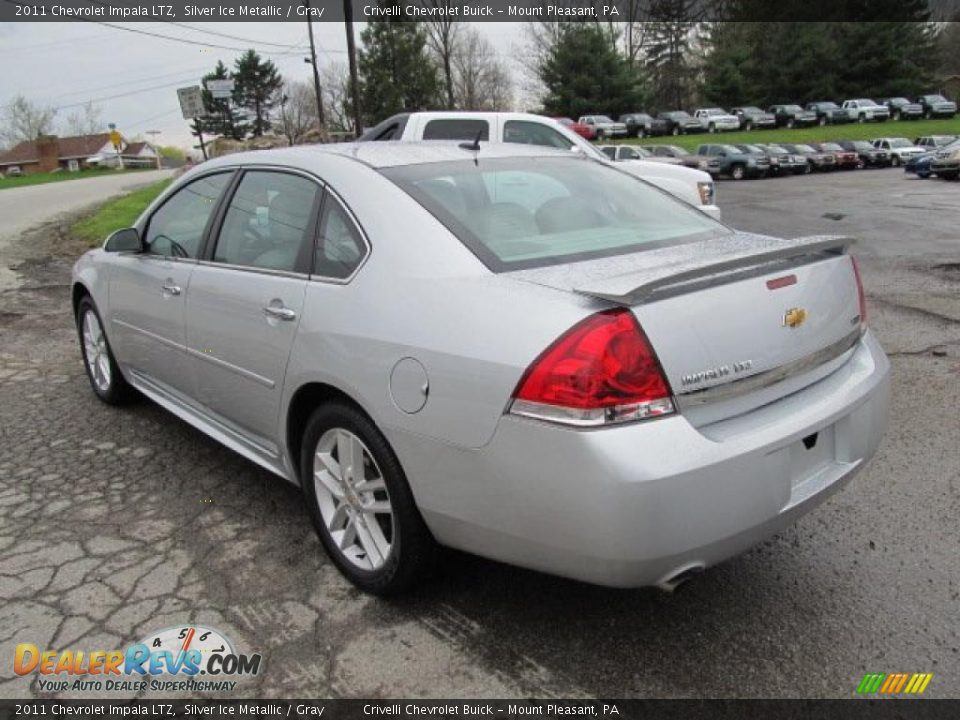 silver ice metallic 2011 chevrolet impala ltz photo 5. Black Bedroom Furniture Sets. Home Design Ideas