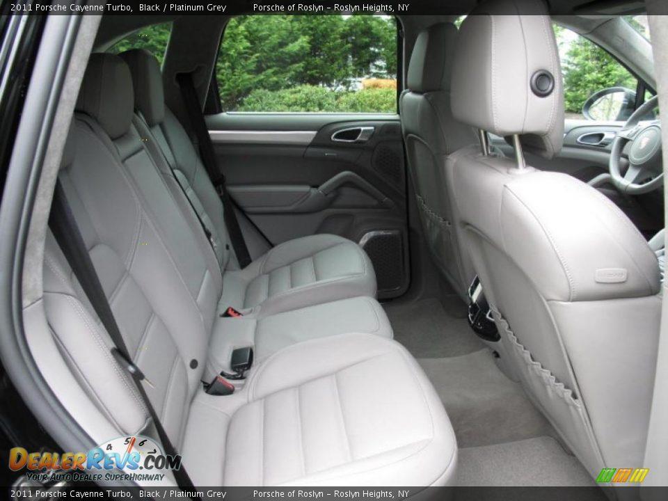 Platinum Grey Interior 2011 Porsche Cayenne Turbo Photo 15 Dealerrevs Com