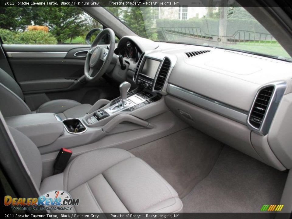 Platinum Grey Interior 2011 Porsche Cayenne Turbo Photo 16 Dealerrevs Com