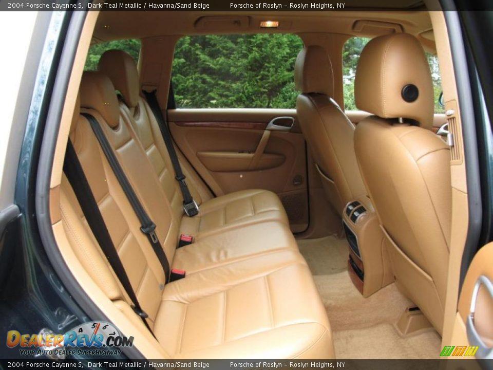 Havanna Sand Beige Interior 2004 Porsche Cayenne S Photo 15