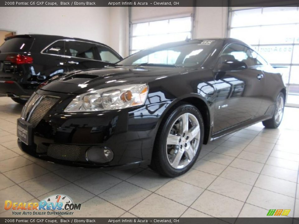 2008 pontiac g6 gxp coupe black ebony black photo 1. Black Bedroom Furniture Sets. Home Design Ideas