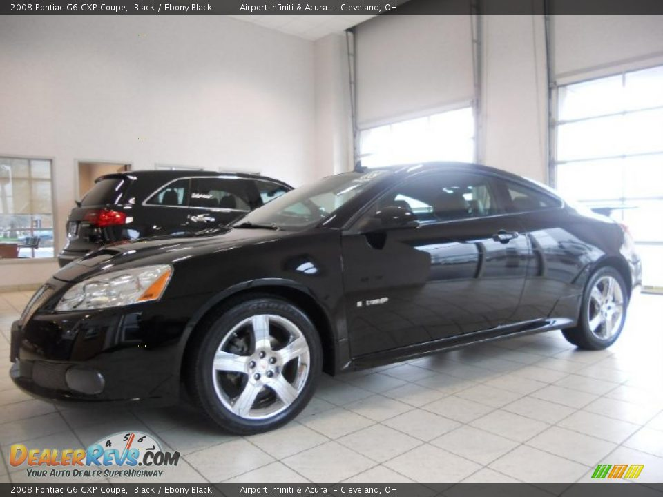 2008 pontiac g6 gxp coupe black ebony black photo 8. Black Bedroom Furniture Sets. Home Design Ideas
