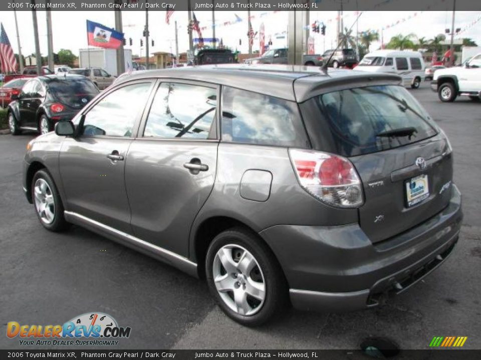 2006 Toyota Matrix Xr Phantom Gray Pearl Dark Gray Photo