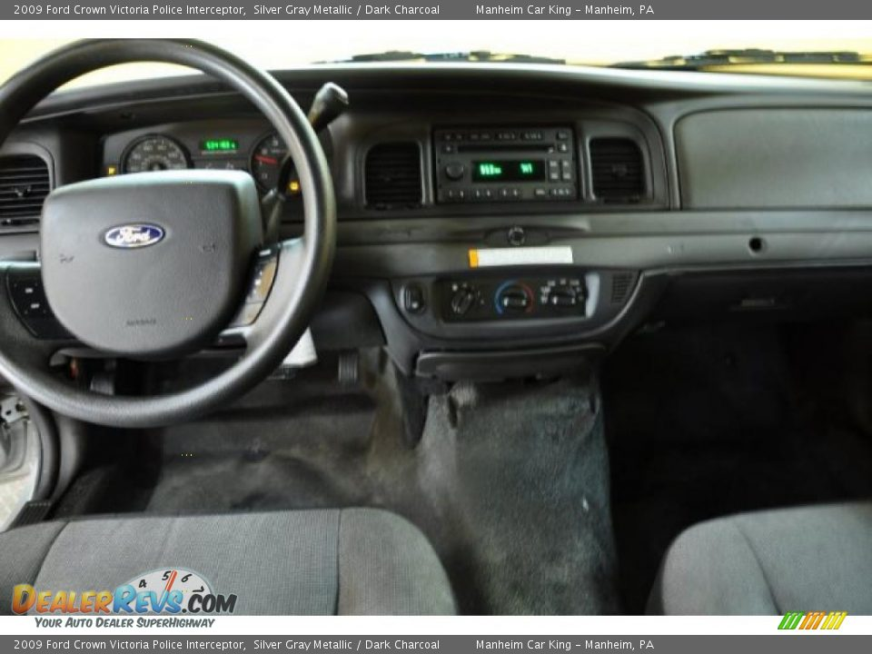 dashboard of 2009 ford crown victoria police interceptor photo 5. Black Bedroom Furniture Sets. Home Design Ideas
