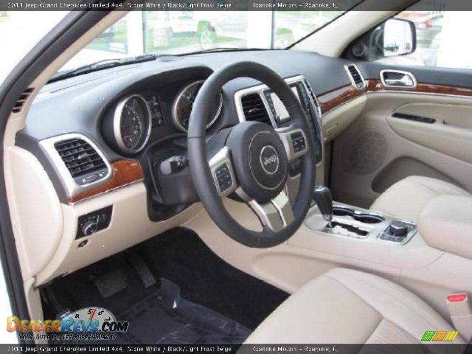 Black Light Frost Beige Interior 2011 Jeep Grand