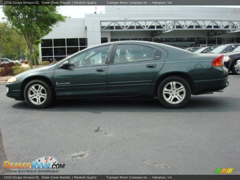 shale green metallic 2000 dodge intrepid es photo 3. Black Bedroom Furniture Sets. Home Design Ideas