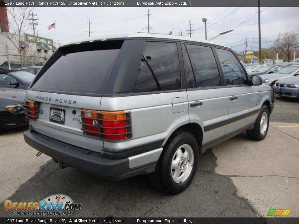 1997 Land Rover Range Rover Se Altai Silver Metallic