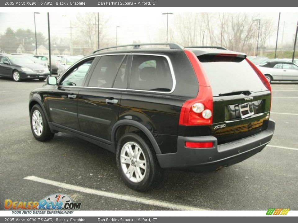 2005 volvo xc90 t6 awd black graphite photo 9. Black Bedroom Furniture Sets. Home Design Ideas