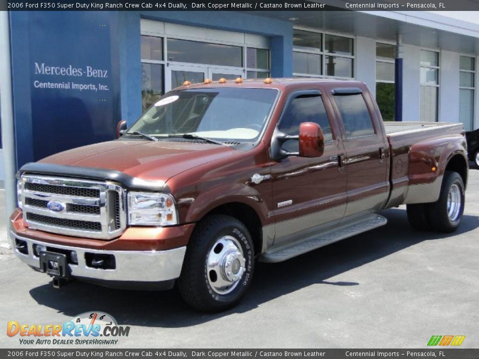 2006 ford f350 super duty king ranch crew cab 4x4 dually. Black Bedroom Furniture Sets. Home Design Ideas