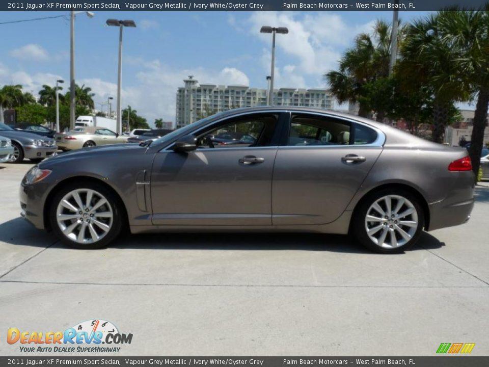Vapour Grey Metallic 2011 Jaguar Xf Premium Sport Sedan