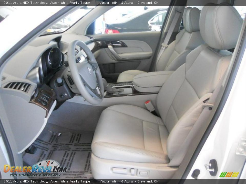 taupe interior 2011 acura mdx technology photo 11. Black Bedroom Furniture Sets. Home Design Ideas