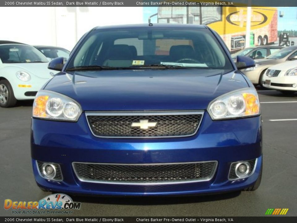2006 chevrolet malibu ss sedan dark blue metallic ebony. Black Bedroom Furniture Sets. Home Design Ideas