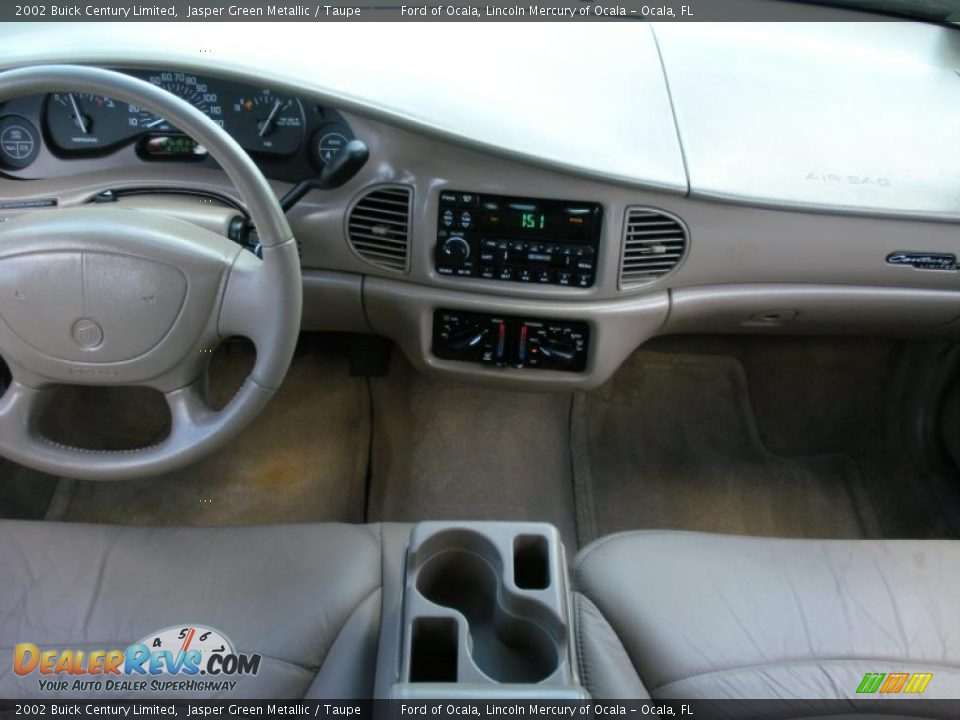 Dashboard Of 2002 Buick Century Limited Photo 17 Dealerrevs Com
