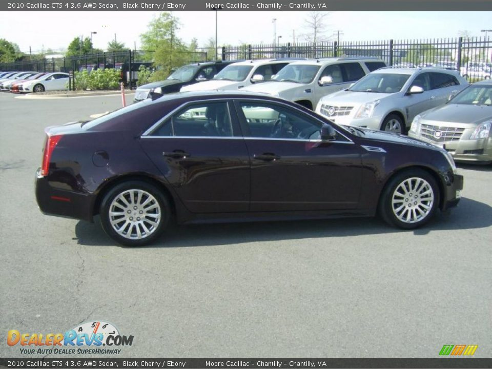 black cherry 2010 cadillac cts 4 3 6 awd sedan photo 1. Black Bedroom Furniture Sets. Home Design Ideas