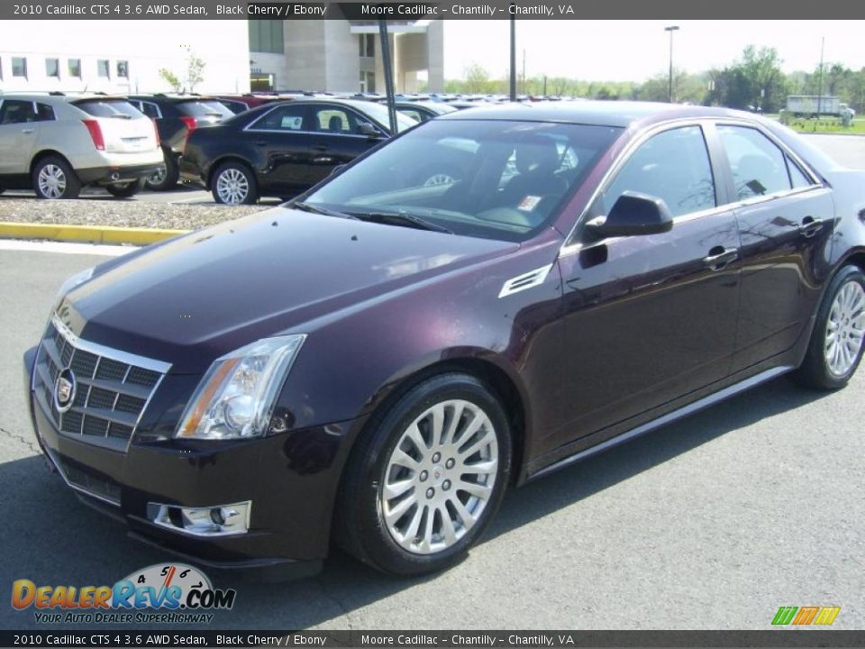 2010 cadillac cts 4 3 6 awd sedan black cherry ebony. Black Bedroom Furniture Sets. Home Design Ideas
