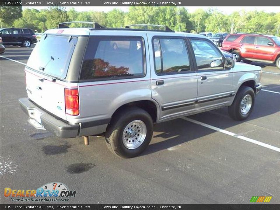 Used Ford Explorer >> Silver Metallic 1992 Ford Explorer XLT 4x4 Photo #16 ...