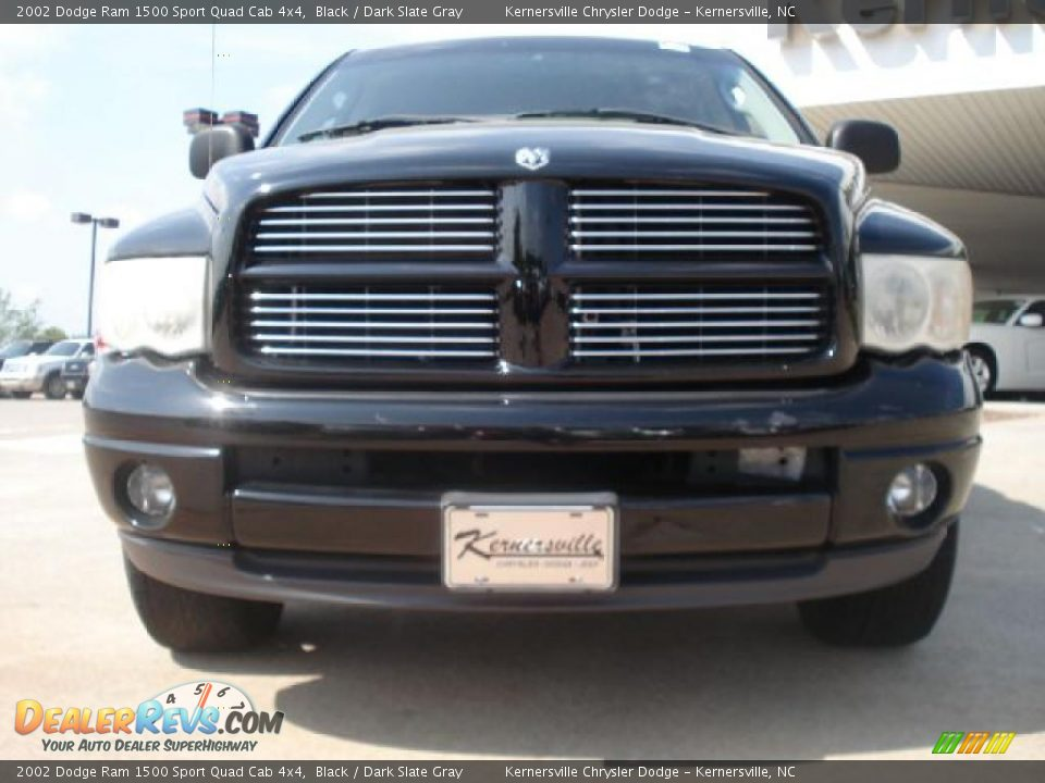 2002 dodge ram 1500 sport quad cab 4x4 black dark slate gray photo 5. Black Bedroom Furniture Sets. Home Design Ideas