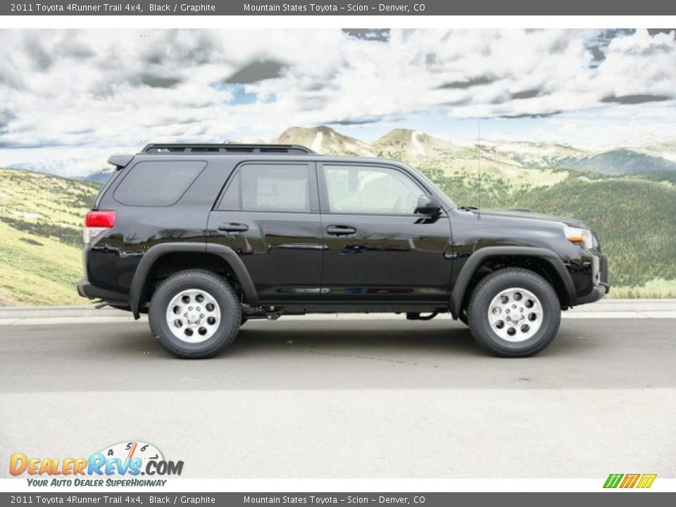2011 toyota 4runner trail 4x4 black graphite photo 2. Black Bedroom Furniture Sets. Home Design Ideas