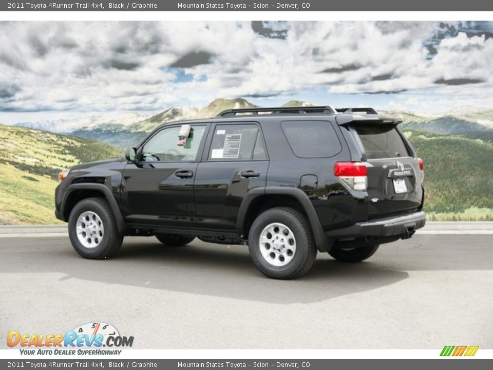 black 2011 toyota 4runner trail 4x4 photo 3. Black Bedroom Furniture Sets. Home Design Ideas
