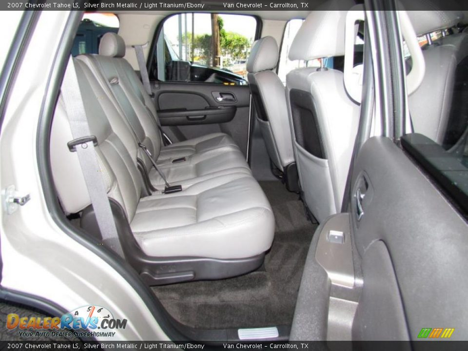 2007 Chevy Tahoe Interior