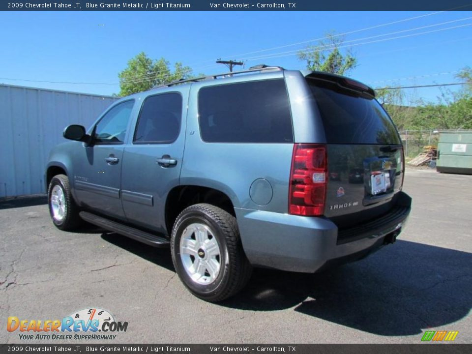blue granite metallic 2009 chevrolet tahoe lt photo 5. Black Bedroom Furniture Sets. Home Design Ideas