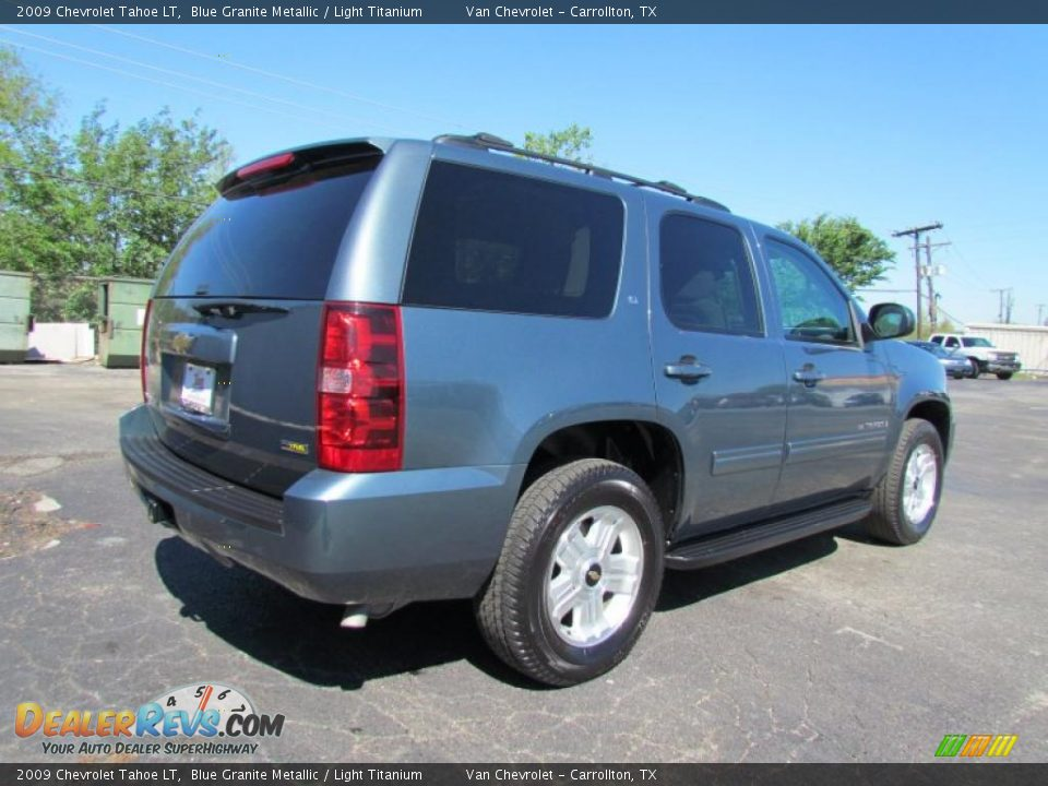 2009 chevrolet tahoe lt blue granite metallic light. Black Bedroom Furniture Sets. Home Design Ideas