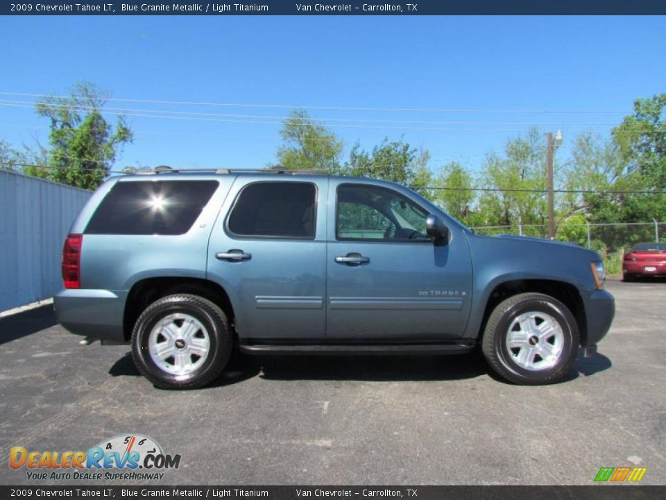 blue granite metallic 2009 chevrolet tahoe lt photo 7. Black Bedroom Furniture Sets. Home Design Ideas