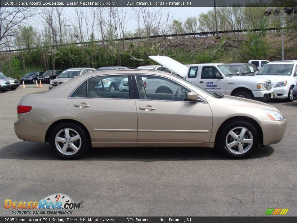 2005 honda accord ex l sedan desert mist metallic ivory. Black Bedroom Furniture Sets. Home Design Ideas