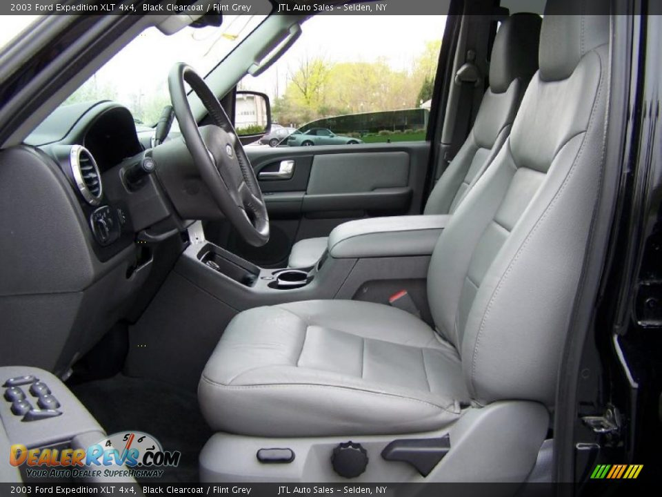 Flint Grey Interior 2003 Ford Expedition Xlt 4x4 Photo 9