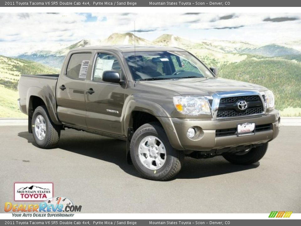 2011 toyota tacoma v6 sr5 double cab 4x4 pyrite mica. Black Bedroom Furniture Sets. Home Design Ideas