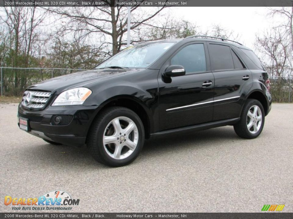 black 2008 mercedes benz ml 320 cdi 4matic photo 1. Black Bedroom Furniture Sets. Home Design Ideas