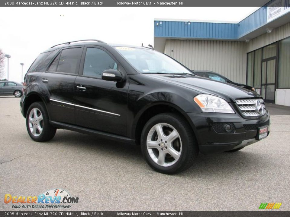 black 2008 mercedes benz ml 320 cdi 4matic photo 3. Black Bedroom Furniture Sets. Home Design Ideas