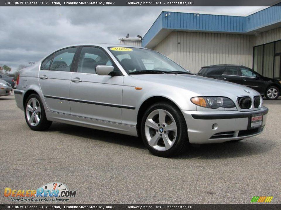 2005 Bmw 3 Series 330xi Sedan Titanium Silver Metallic