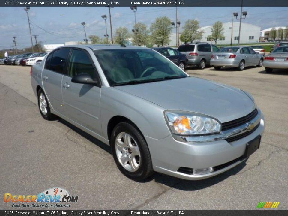 2005 chevrolet malibu lt v6 sedan galaxy silver metallic gray photo 5 de. Cars Review. Best American Auto & Cars Review