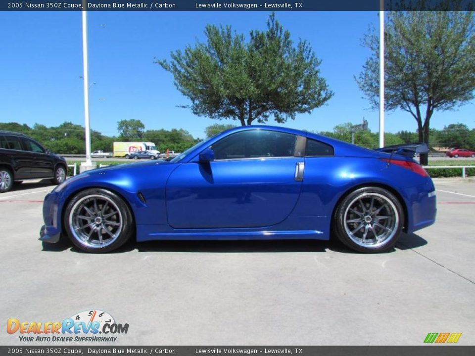 daytona blue metallic 2005 nissan 350z coupe photo 2. Black Bedroom Furniture Sets. Home Design Ideas