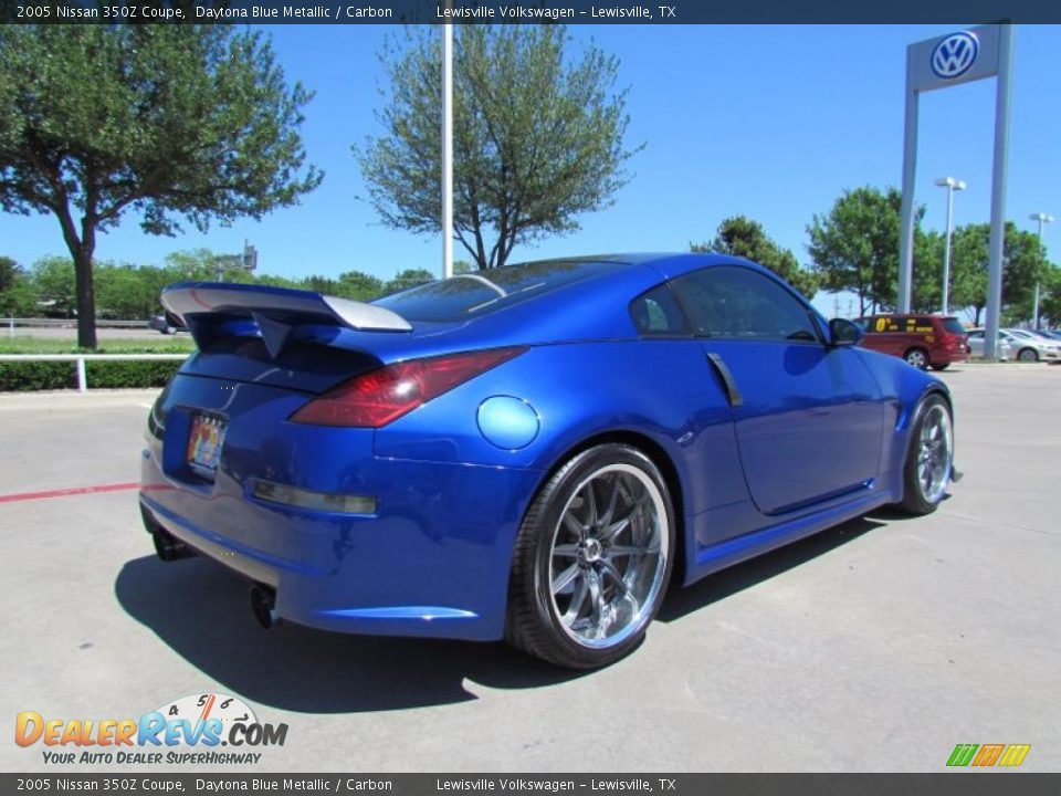 daytona blue metallic 2005 nissan 350z coupe photo 5. Black Bedroom Furniture Sets. Home Design Ideas
