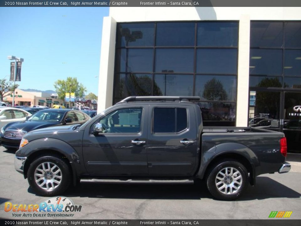 2010 nissan frontier le crew cab night armor metallic graphite photo 4. Black Bedroom Furniture Sets. Home Design Ideas
