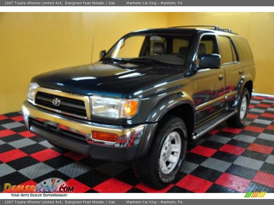 1997 toyota 4runner limited 4x4 evergreen pearl metallic. Black Bedroom Furniture Sets. Home Design Ideas