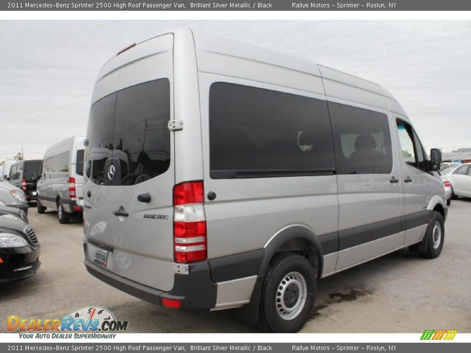 2011 mercedes benz sprinter 2500 high roof passenger van for Mercedes benz sprinter service